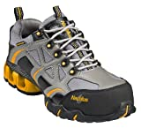 Nautilus Women's Waterproof EH Athletic Work Shoes Composite Toe Grey 7.5 M
