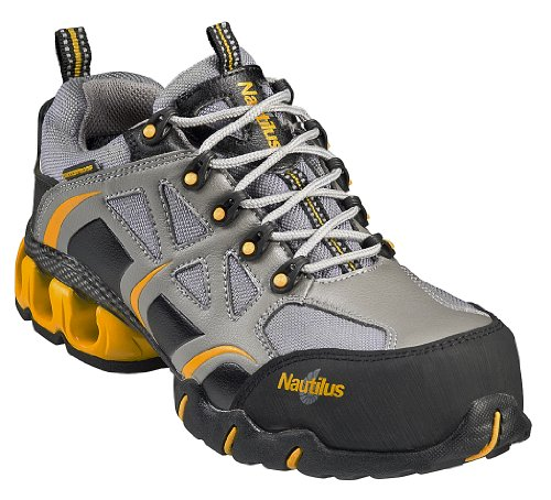 Nautilus Women's Composite Toe Eh Wp Athletic Sneakers,Gray,8 ()
