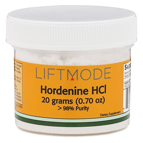 Hordenine HCl Powder - 20 Grams (400 Servings at 50 mg) | #1 Value for Money #Top Nootropic Supplement | Mood Lift, Increased Focus, Energy, Metabolism & Helps with Weight Loss - FBA