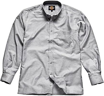 Dickies - Camisa Oxford de hombre, Gris, SH64200 SV 17: Amazon.es: Bricolaje y herramientas