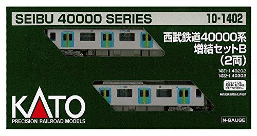 [해외] KATO N게이지 세이부 철도 40000 계증결 2 양세트 10-1402 철도 모형 전철