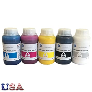 Amazon.com: USA Dupont Artistri DTG Ink CMYK White Textile ...