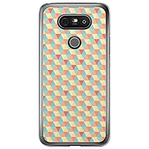 Loud Universe LG G5 Geometry Decorative C Printed Transparent Edge Case - Multi Color