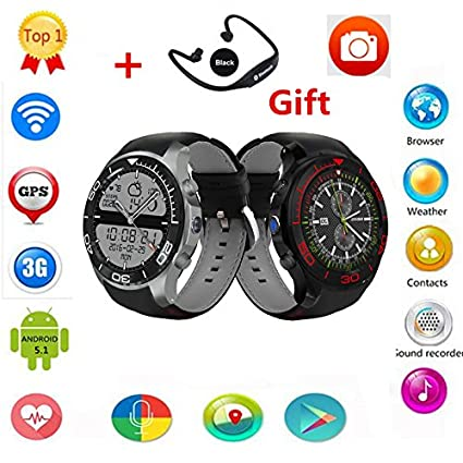 Amazon in: Buy Bluetooth Android 5 1 OS S11 X01S Q7 Smart Watch