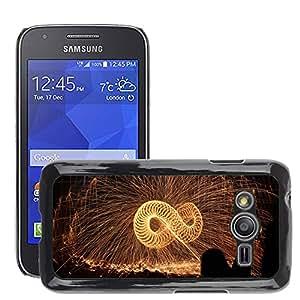 Etui Housse Coque de Protection Cover Rigide pour // M00152141 Viruta de hierro Fuego Infinito // Samsung Galaxy Ace4 / Galaxy Ace 4 LTE / SM-G313F