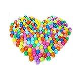 happyear Pit, colorido diversión ftalato última intervensión de BPA última intervensión Crush Prueba pelotas de plástico blando air-filled Océano pelota Playballs para bebé niños