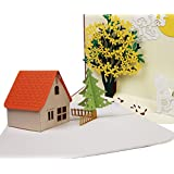 3D Pop up Cards, House & Tree 2 Cards, Birthday Cards, Father's day cards, Greeting Cards, Fusolo
