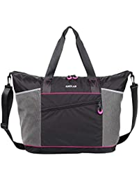Gym Tote Bag for Women with Roomy Zipper Pockets