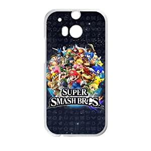 HTC One M8 cell phone cases White Super Mario Bros fashion phone cases URKL472191