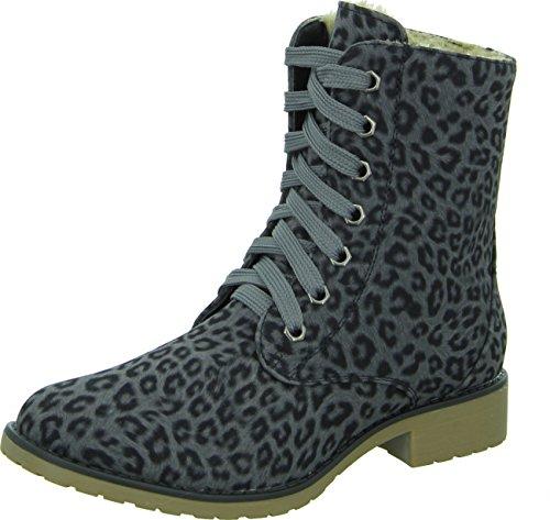 Living Updated Damenschuhe casual Dersert Boots im Leo-Look