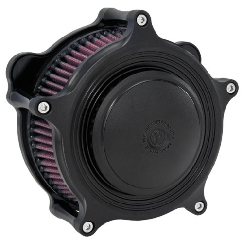 Performance Machine Super Gas MERC Black Ops Air Cleaner 0206-2063-SMB by PERFORMANCE MACHINE