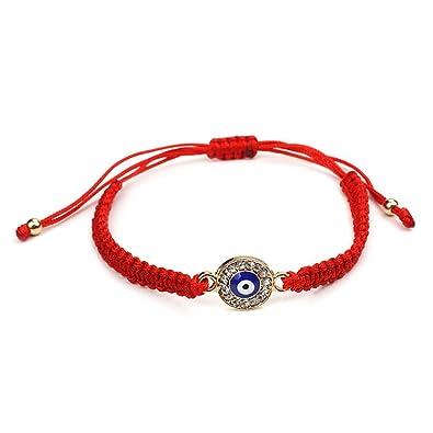 nuances de dernière sélection style top Jiamins Mauvais Oeil tressé Bracelets Chapelet Protection ...