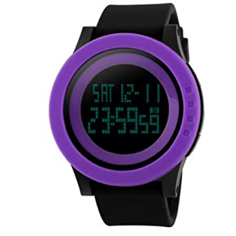 68fbb710c01 Amazon.com  Luxury Men Military Sports Watches Waterproof LED ...