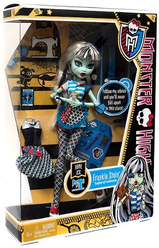 Monster High Frankie Stein Doll Home Ick Playset