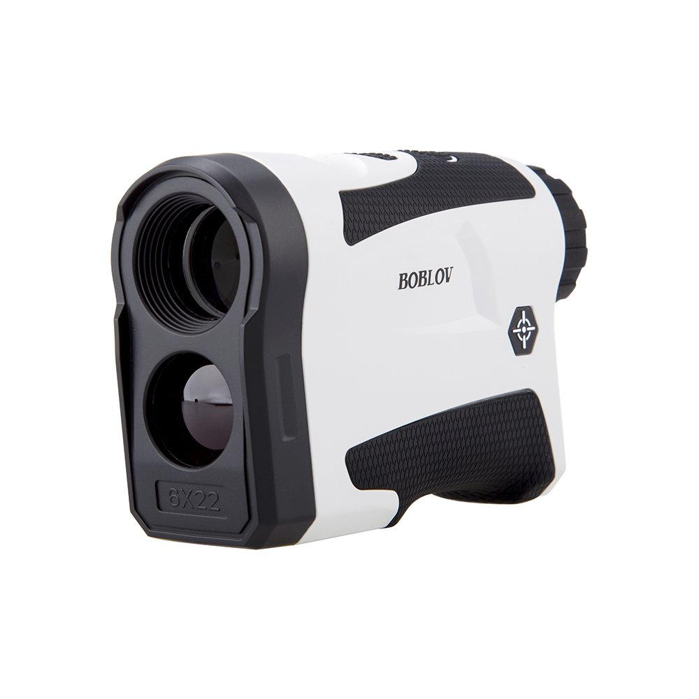 BOBLOV 650Yards Golf Rangefinder with Pinsensor Distance Speed Measurement Range Finder +/-1M Precision Support Vibration on/off and USB Charging Flag Lock