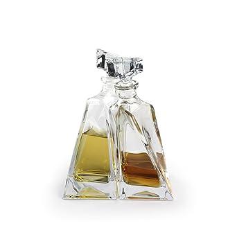 A.P. Donovan - garrafas de whisky / decantadores en conjunto - para servir whisky, coñac