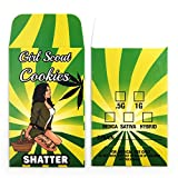 1000 Girl Scout Cookie Premium Shatter Labels Concentrate Packaging Extract Envelopes #101