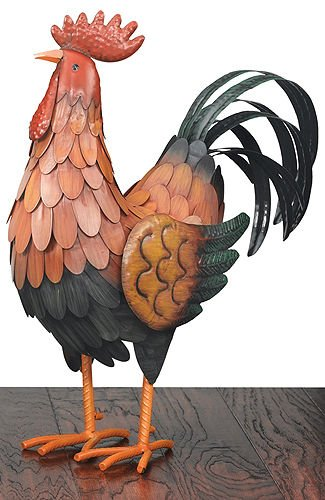 Regal Art & Gift Golden Rooster Decor, Large by Regal Art & Gift (Image #1)