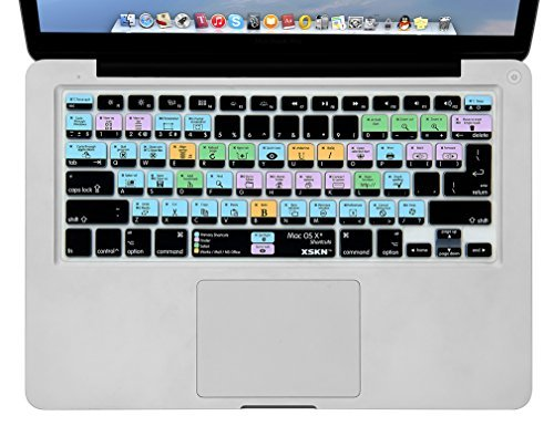 XSKN Shortcuts Keyboard MacBook European product image