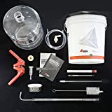 Home Brewing Equipment Kit With 6g Plastic Carboy (K6PET)