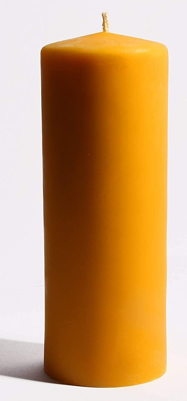 XXL Kerze aus 100% 100% 100% Bienenwachs 24 x 8 cm Bienenwachskerze, handgemacht, direkt vom Imker aus Deutschland, Bayern, von der Bienenbude 33903e