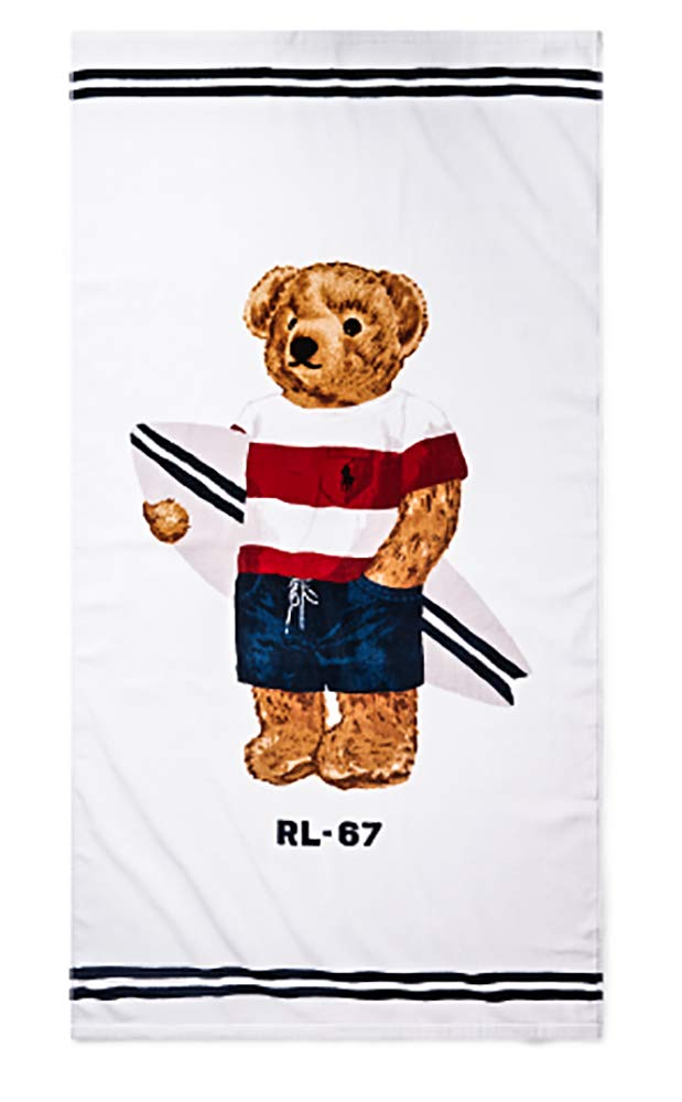Ralph Lauren Polo Toalla de Playa de algodón de Felpa (88,9 x 167 ...