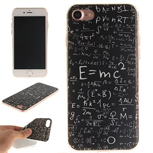 Custodia iPhone 7 / iPhone 8 , LH Formula Matematica TPU Silicone Cristallo Morbido Case Cover Custodie per Apple iPhone 7 / iPhone 8 4.7