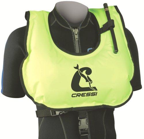Cressi Snorkel Vest, yellow, standard size