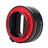 Andoer Macro AF Auto Focus Extension DG Tube 10mm 16mm Set Ring Metal Mount Support Full Frame for Sony E-mout NEX NEX-6 A7R A3000