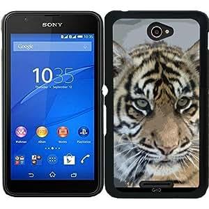 Funda para Sony Xperia E4 - Tiger_2014_0901 by JAMFoto