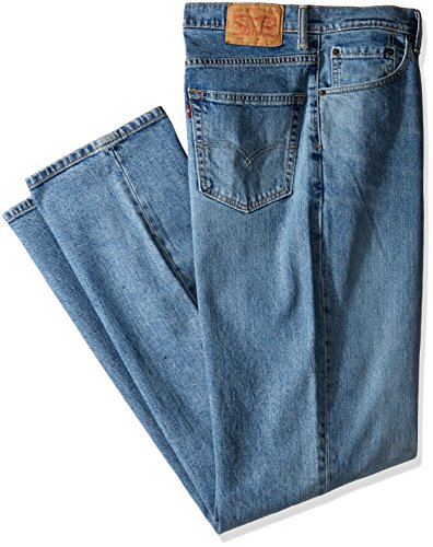 Levi's Men's Big and Tall 550 Relaxed Fit Jean, Clif-Stretch, 44W x 29L (Denim Relaxed Fit)