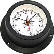 Trintec Nautical Marine Vector Collection Quartz Time Clock (White Dial) VEC-W-01 Boat Cabin Instrument