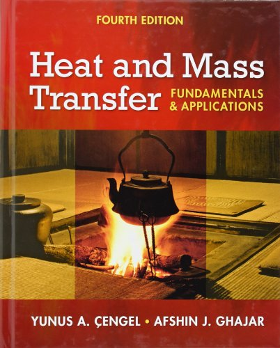 Heat and Mass Transfer: Fundamentals and Applications + EES DVD for Heat and Mass Transfer (With Heat Applications Transfer)
