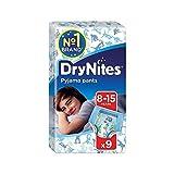 Huggies 8-15 years DryNites for Boys 9 per pack - Pack of 4