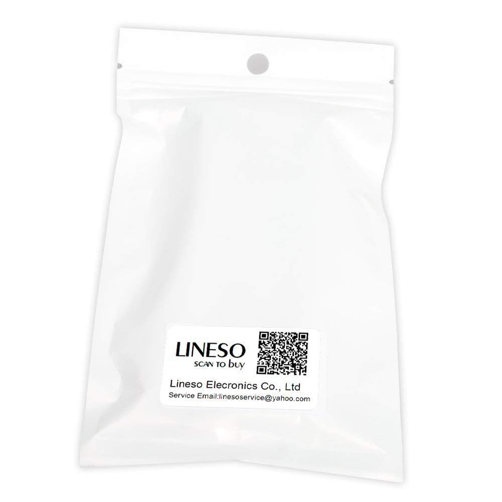 LINESO 2Pack Stereo RCA To Stereo RCA Audio Extender Over Cat5 (2x RCA TO RJ45 Female)