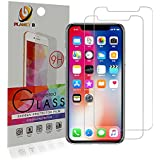 Planet B - Apple iPhone X - [2 Pack] Tempered Glass Screen Protector