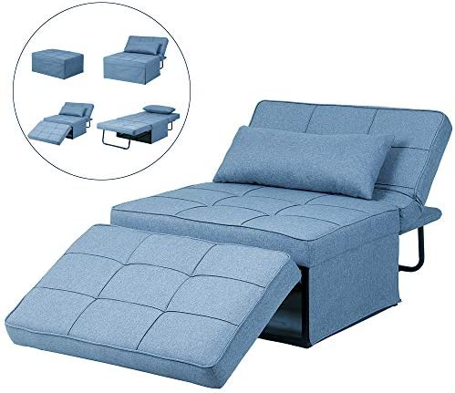 Diophros Folding Ottoman Sofa Bed, 4 in 1 Multi Function ...
