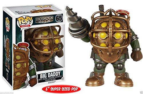 "New Collection Funko POP Games Bioshock Big Daddy 6"" Vinyl Figure 65 NEW"