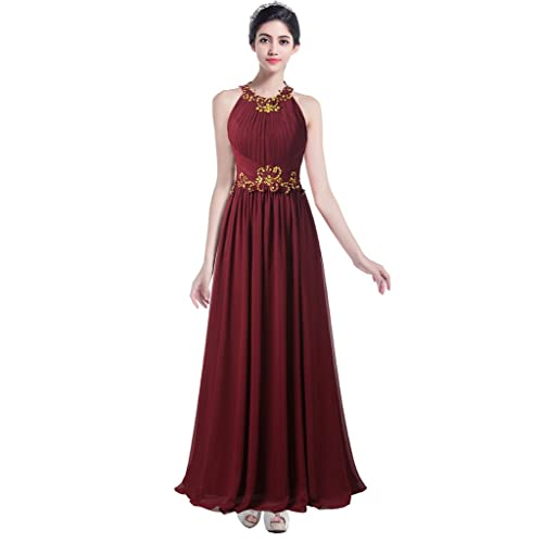 Long Burgundy Dresses: Amazon.com
