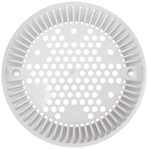 Hayward WG1048EW White Wall Suction Fitting Cover ()