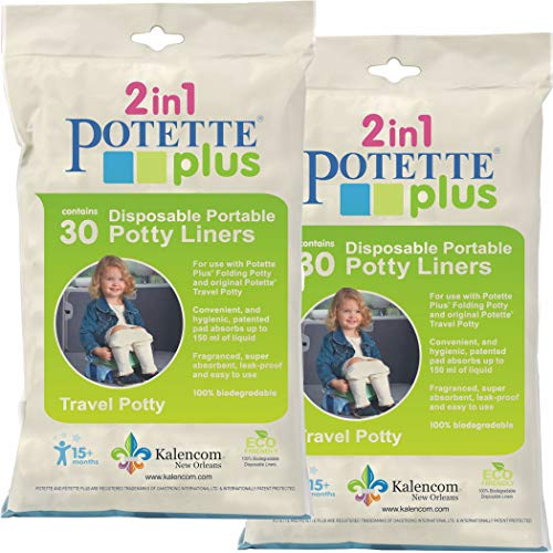 - Kalencom Potette Plus Liners - 30 Liners Pack of 2