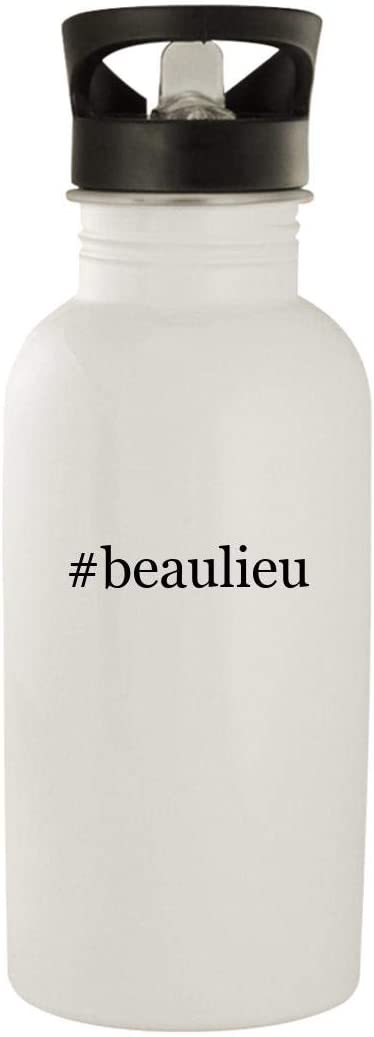 #beaulieu - Stainless Steel Hashtag 20oz Water Bottle, White 51ELyjM9TTL