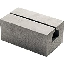 """Seattle Sports RS - 7"""" Deluxe Canoe Replacement Blocks (Pair), Gray"""