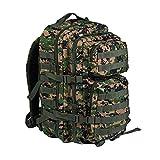 Mil Tec Military Army Patrol Molle Assault Pack Tactical Combat Rucksack Backpack Bag 36L MARPAT Digital Woodland Camo