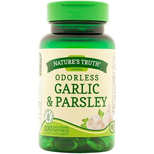 Nature's Truth Odorless Garlic & Parsley 100 Softgels