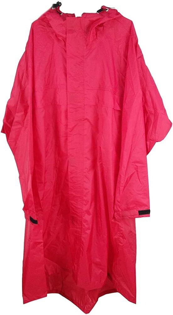Light Weight Trekker Backpack Poncho Raincoat Nano Tarp