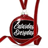 Christmas Decoration Classic design Caturday Everyday Ornament
