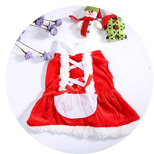 (Fanatical-Night Pet Christmas Clothes Outwear Coat Apparel Puppy Dog Santa Claus Costume Hoodie Dog)