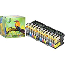 Ink Hero 12 Pack High Yield Cartridges for Brother LC-103 DCP J152W MFC J245 J285DW J4310DW J4410DW J450DW J4510DW J4610DW J470DW J4710DW J475DW J650DW J6520DW J6720DW J6920DW J6920DW J870DW J875DW