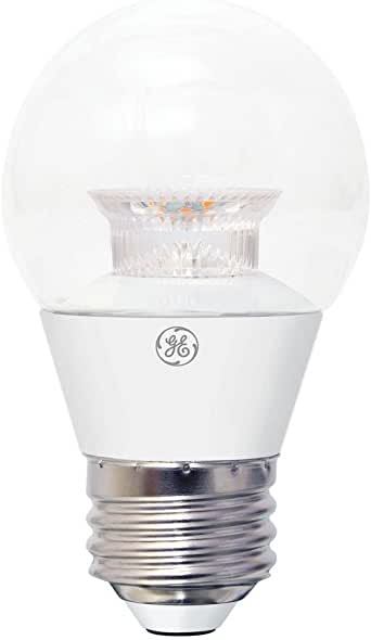Led Light Bulb Daylight: GE 32960 40W Equivalent Daylight A15 Clear Ceiling Fan LED